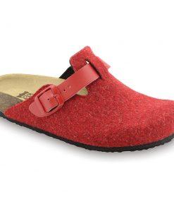 RIM domácí zimní obuv pro dámy - plsť (36-42)