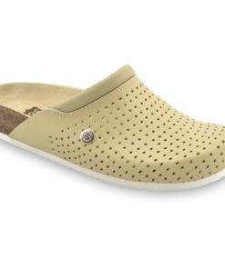 BEOGRAD kožené dámské uzavřené papuče (36-42)
