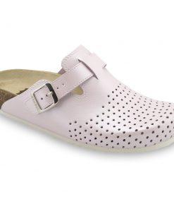 BEOGRAD papuče uzavřené pro dámy - kůže kast (36-42)