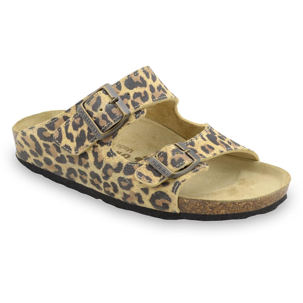 KAIRO pantofle pro dámy - kůže (36-42)