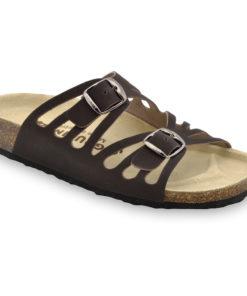 DERBY pantofle pro dámy - kůže (36-42)