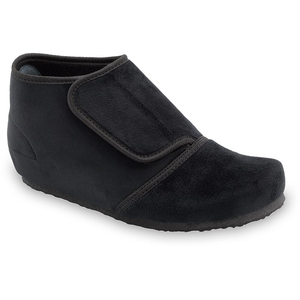 BAJKA domácí zimní obuv pro dámy - plyš (36-42) - černá, 41