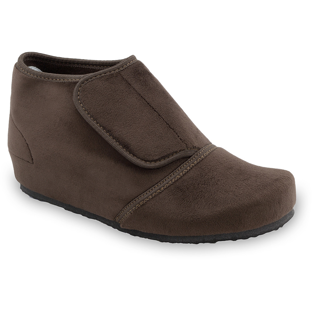 BAJKA domácí zimní obuv pro dámy - plyš (36-42) - hnědá, 37
