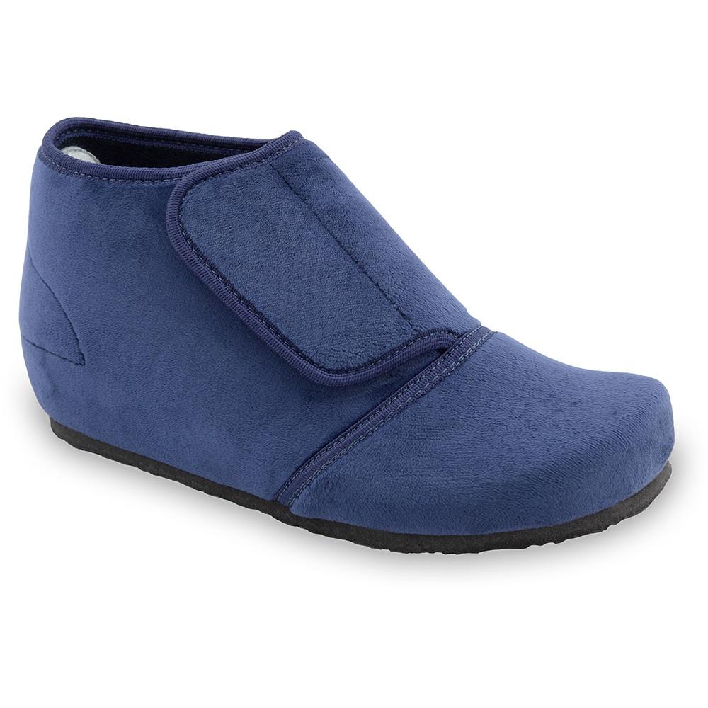 BAJKA domácí zimní obuv pro dámy - plyš (36-42) - modrá, 41