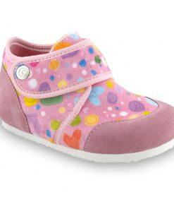 KINDER domácí zimní obuv pro děti - plyš (23-35)