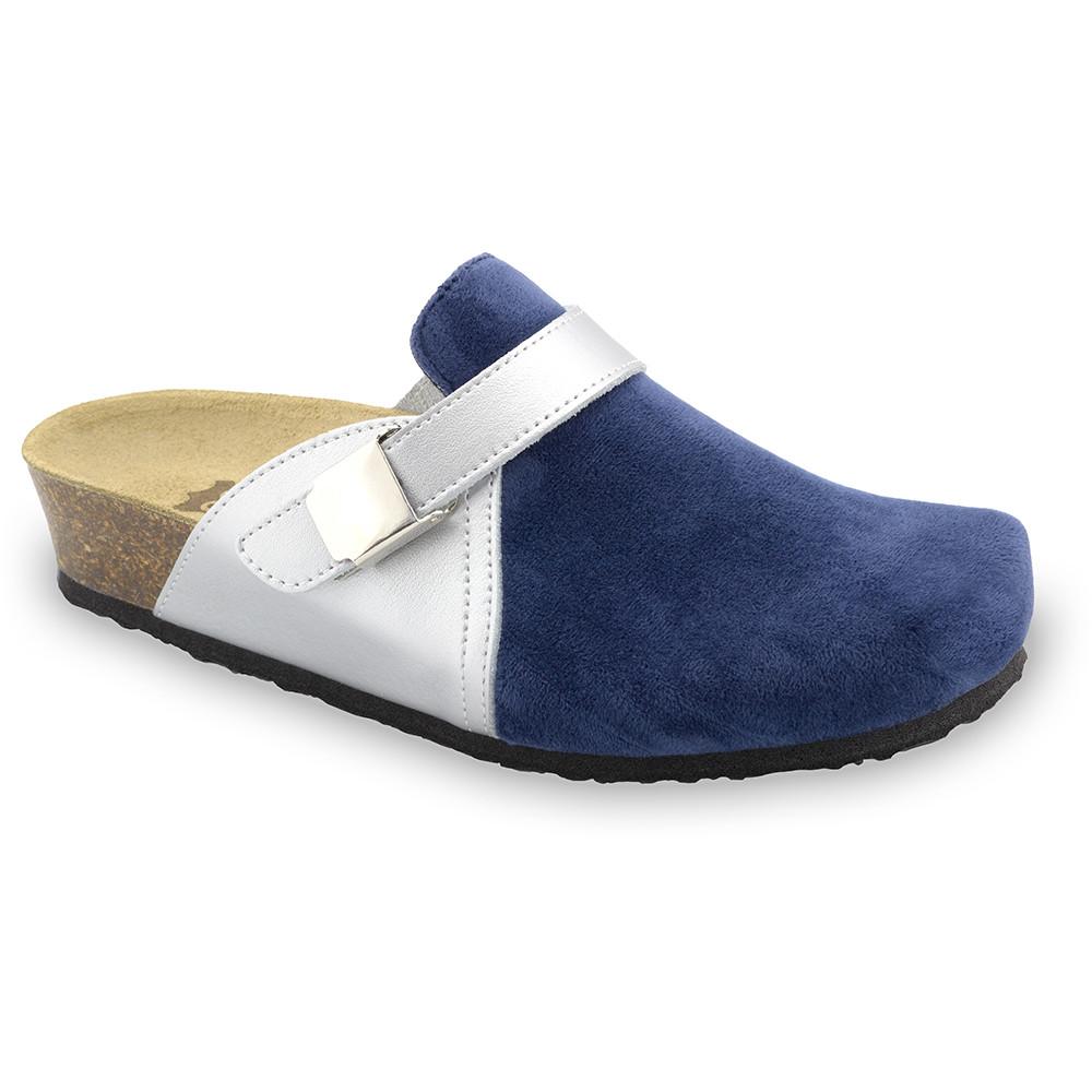 INDIO papuče uzavřené pro dámy - plyš (36-42)