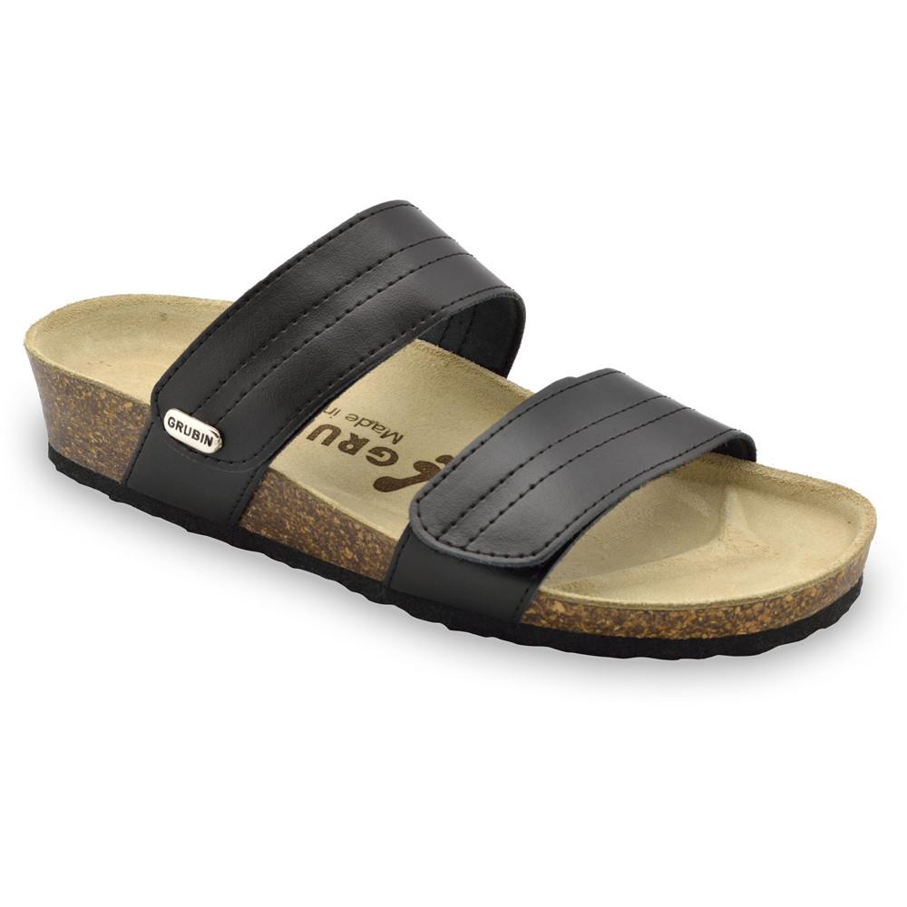 MALTA pantofle pro dámy - kůže (36-42) - černá, 41