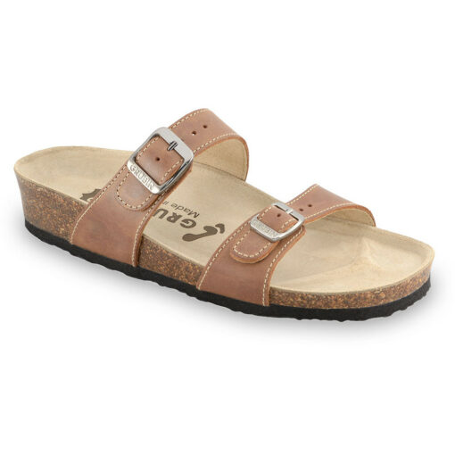 EDITH pantofle pro dámy - kůže (36-42)