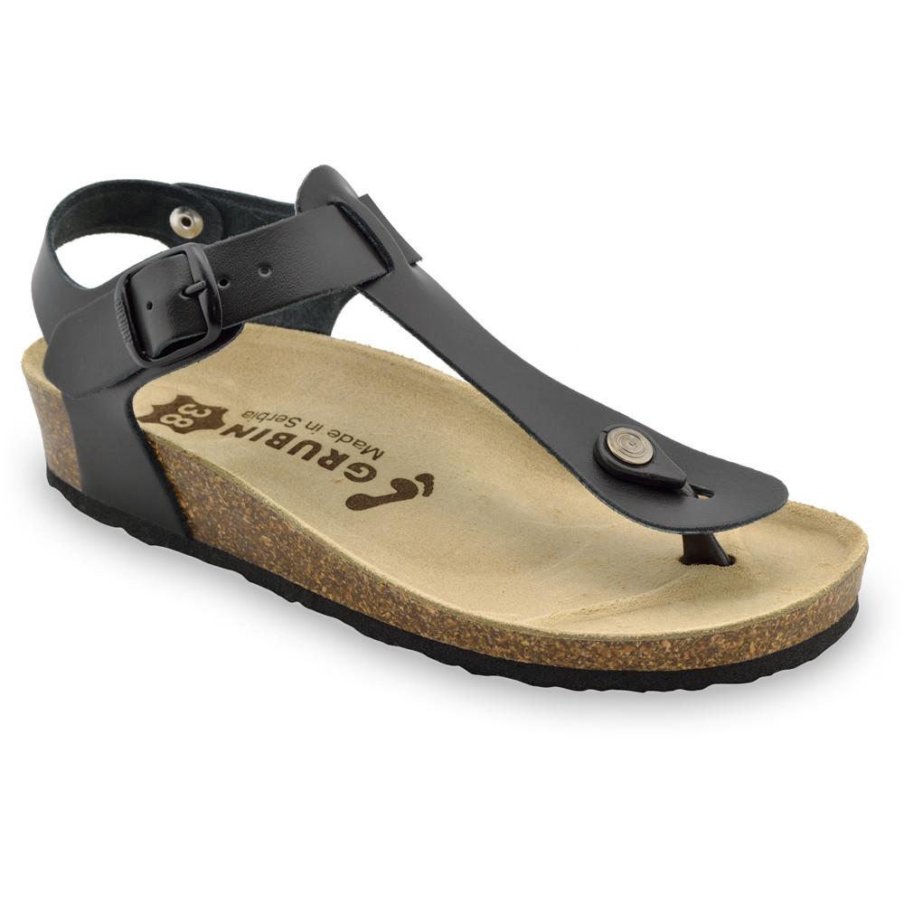 TOBAGO sandály s oporou palce pro dámy - kůže (36-42)