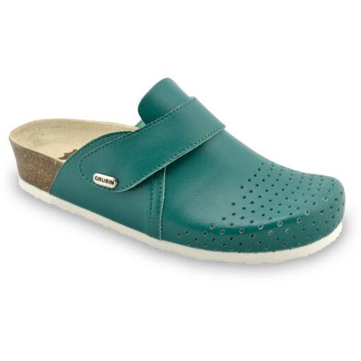 OREGON papuče uzavřené pro dámy - kůže (36-42)
