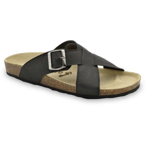 BORSALLINO pantofle pro pány - kůže (40-49)