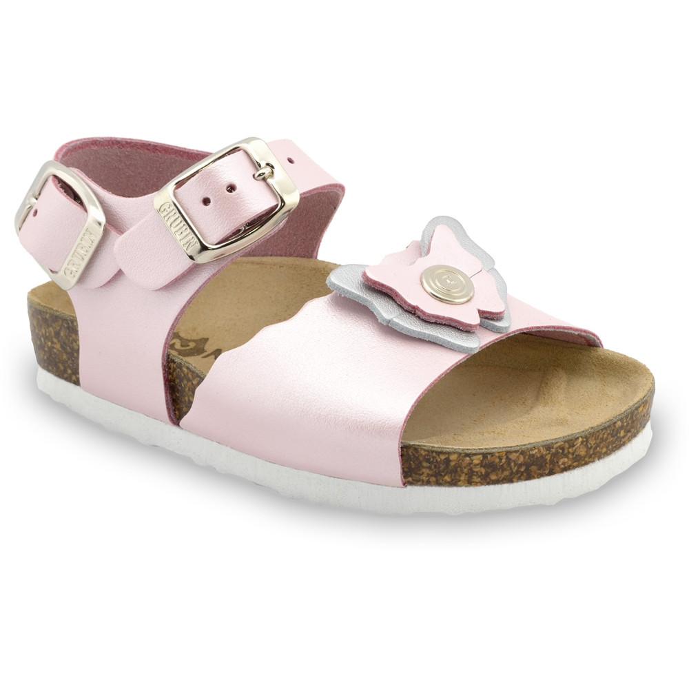 BUTTERFLY sandály pro děti - kůže (23-29)