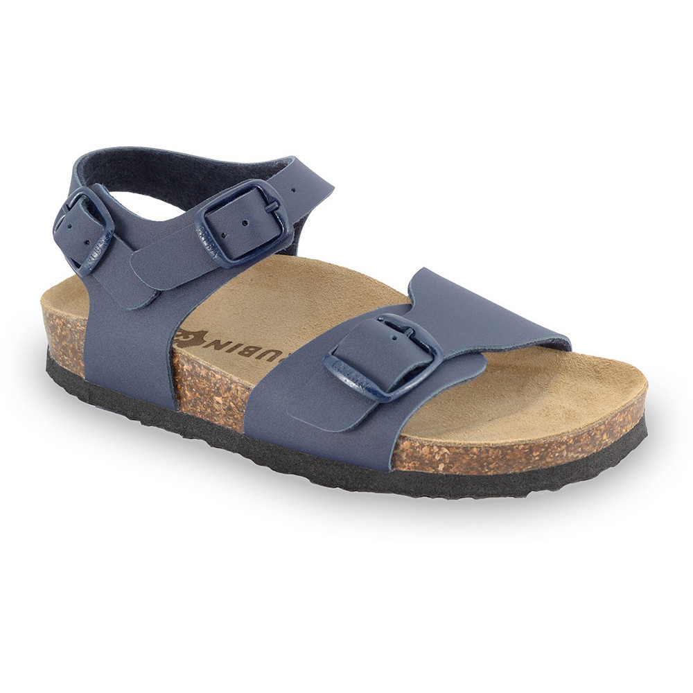 ROBY sandály pro děti - koženka (30-35) - modrá, 32