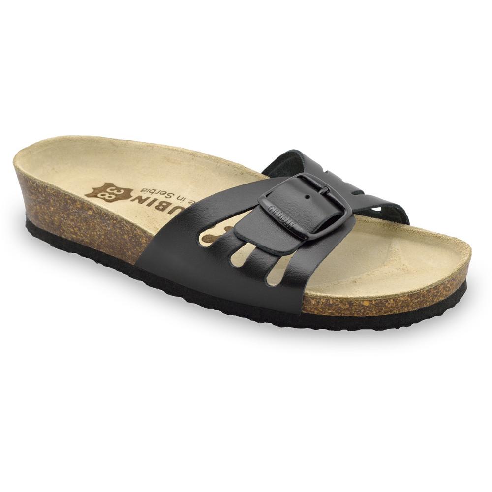 LOLITA kožené dámské pantofle (36-42)