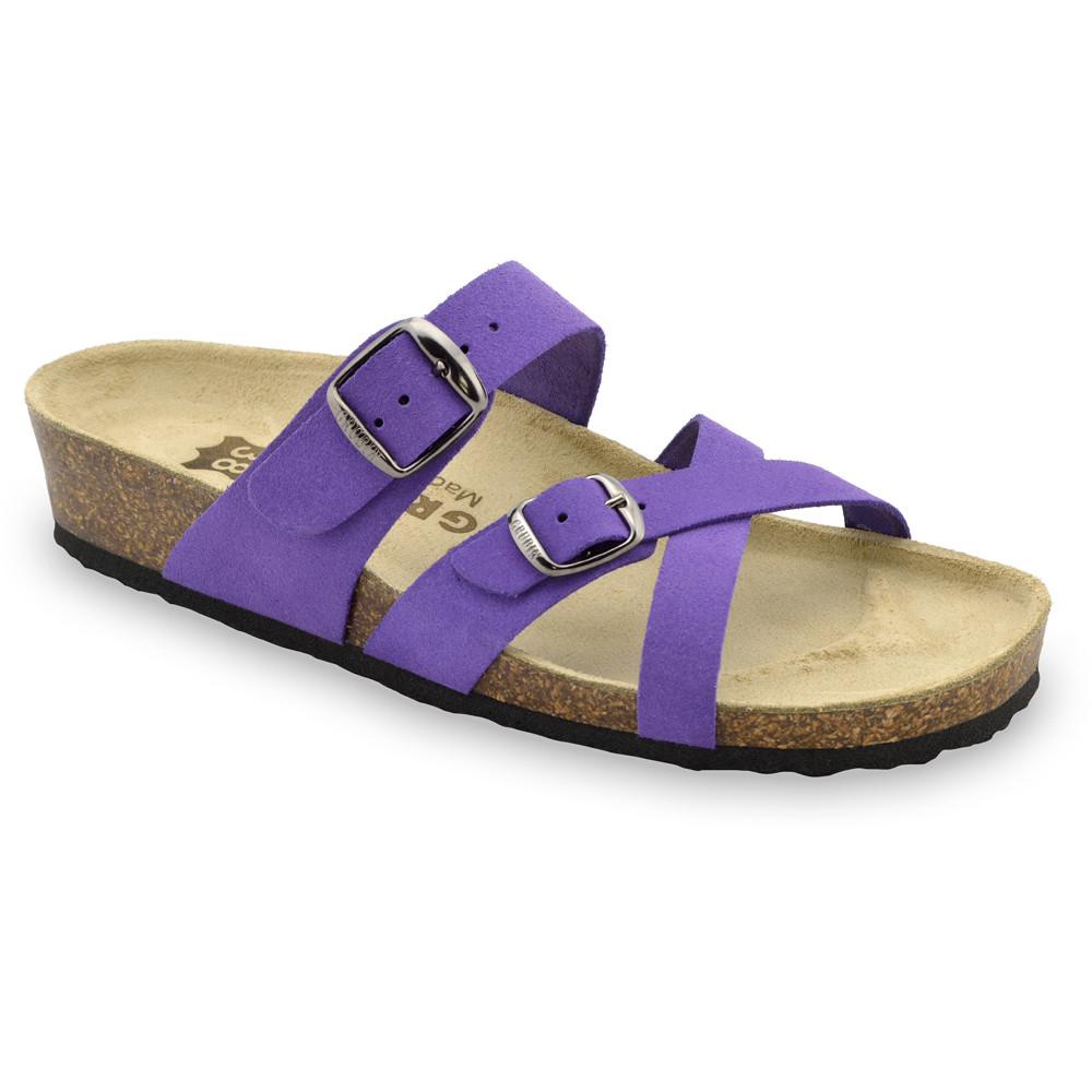 MIRJAM kožené dámské pantofle (36-42)