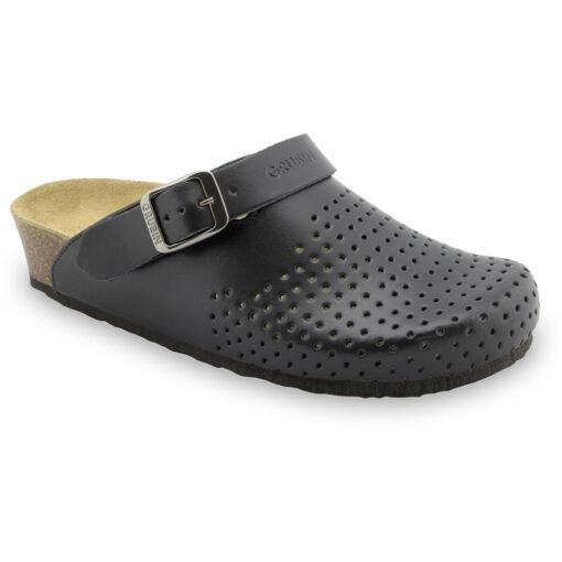 STOCKHOLM kožené dámské uzavřené papuče (36-42)