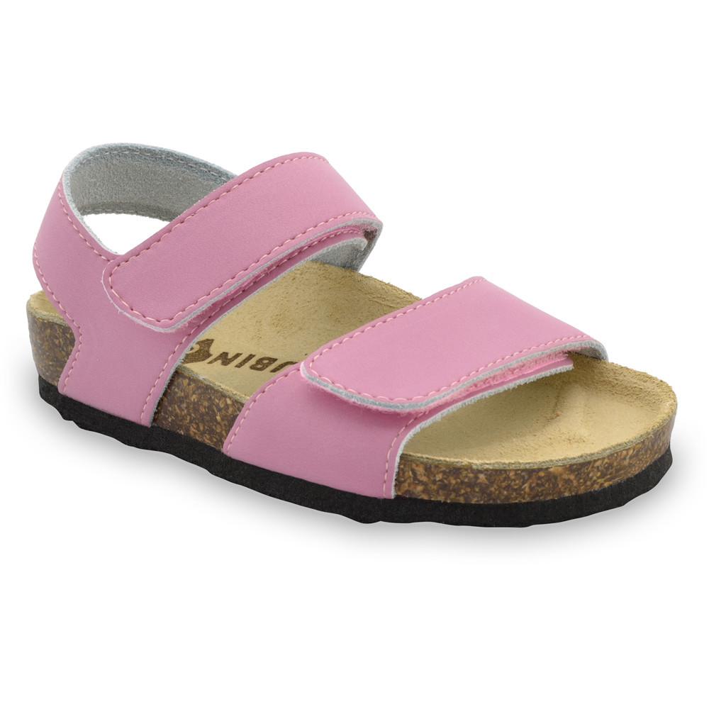 DIONIS sandály pro děti - kůže (30-35) - ružová, 30