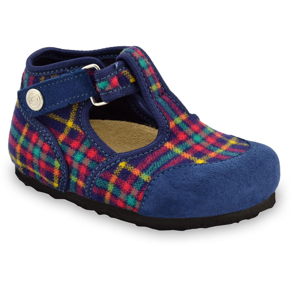 CORONA domácí zimní obuv pro děti - plsť (23-35) - vzorová, 29