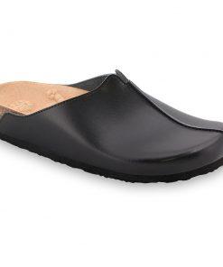 TRISTAN kožené dámské uzavřené papuče (37-41)