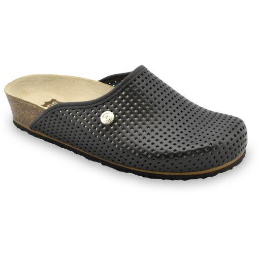 TERRA kožené dámské uzavřené papuče (36-42)