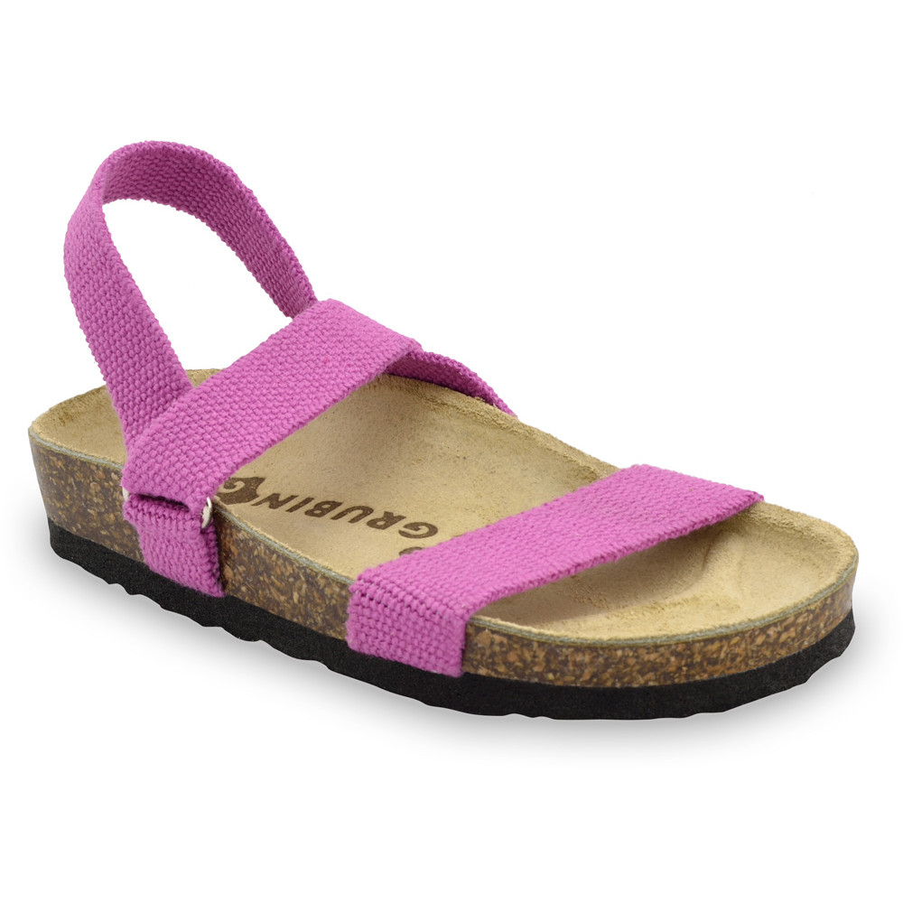 RAMONA sandály pro děti - tkanina (23-29) - ružová, 26