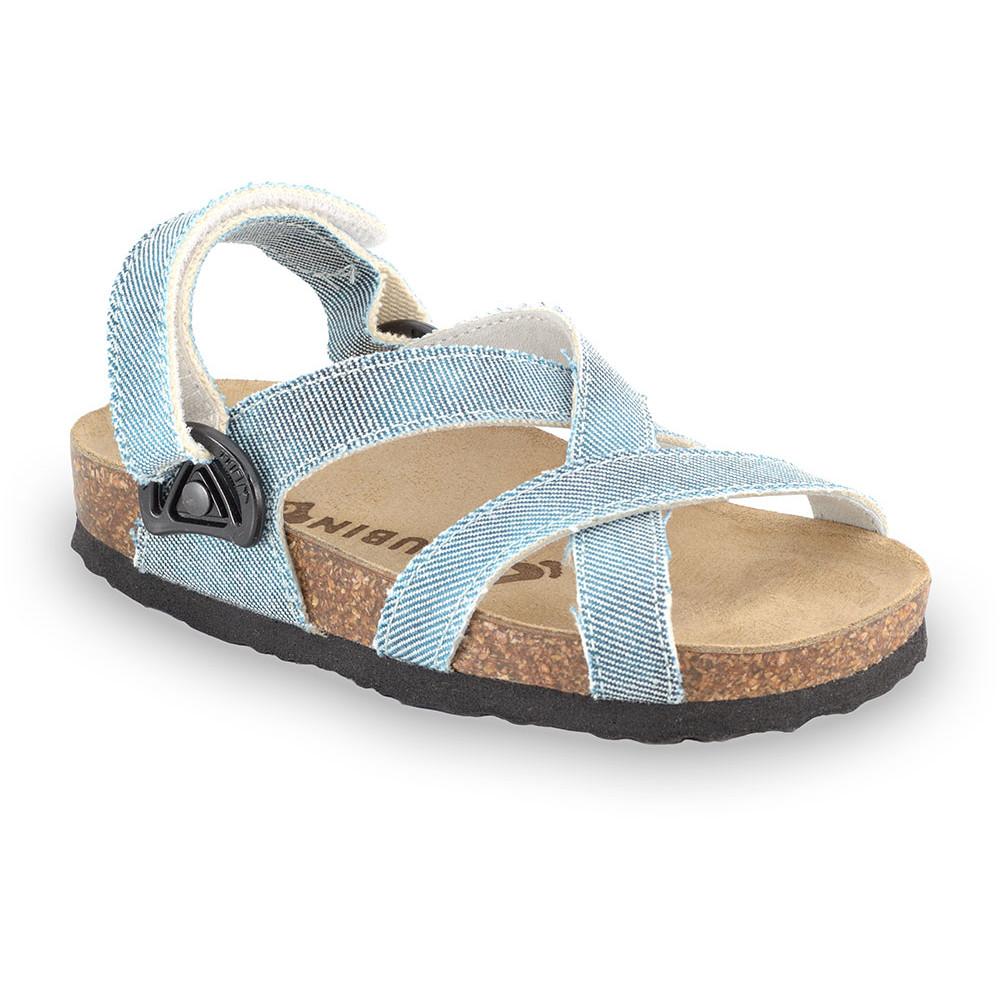 PITAGORA sandály pro děti - tkanina (30-35)