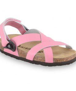 PITAGORA sandály pro děti - kůže nubuk-kast (30-35)