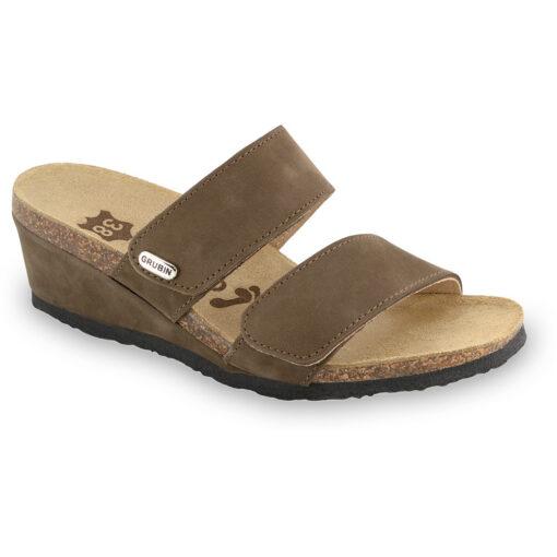 KRISTI kožené dámské pantofle (36-42)