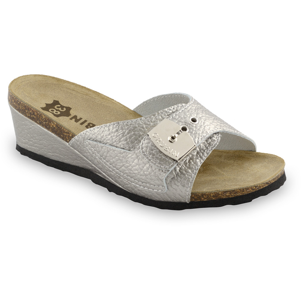 DAKI kožené dámské pantofle (36-42)