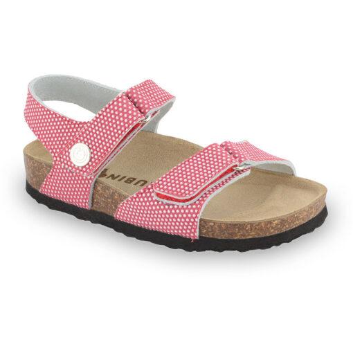 RAFAELO sandály pro děti - kůže kast (23-29)