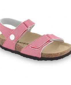RAFAELO sandály pro děti - kůže kast (30-35)