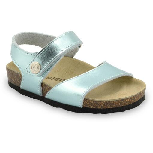 LEONARDO sandály pro děti - kůže (23-29)