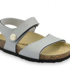 LEONARDO sandály pro děti - kůže kast (30-35)
