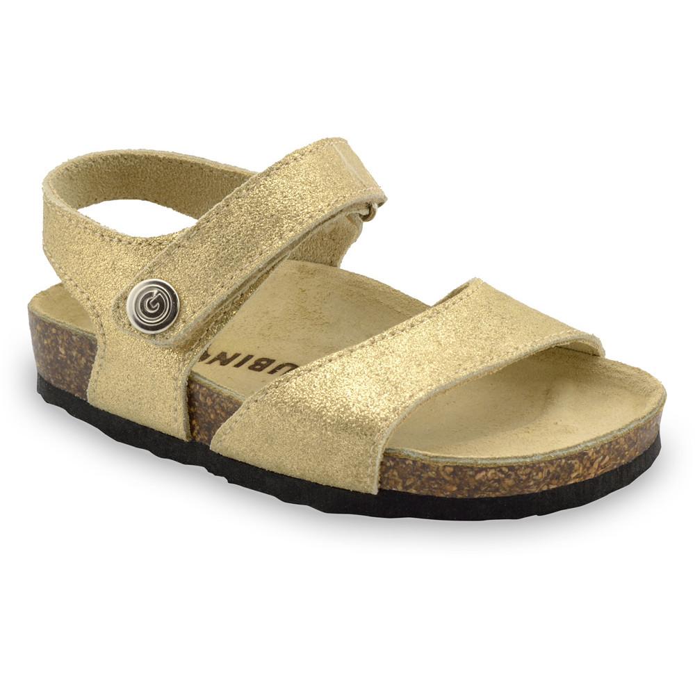 LEONARDO sandály pro děti - kůže (30-35)