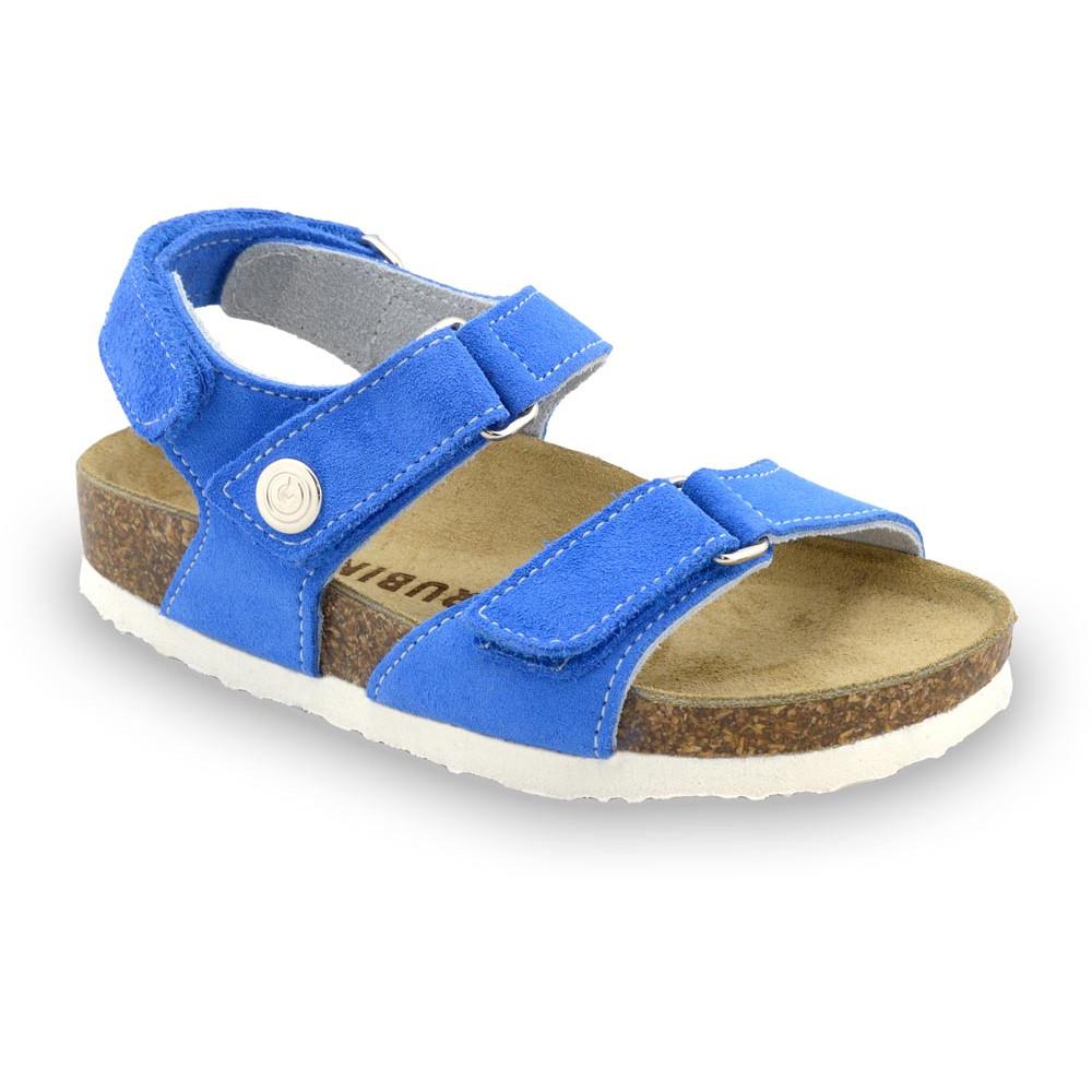 DONATELO sandály pro děti - semišová kůže (23-29)