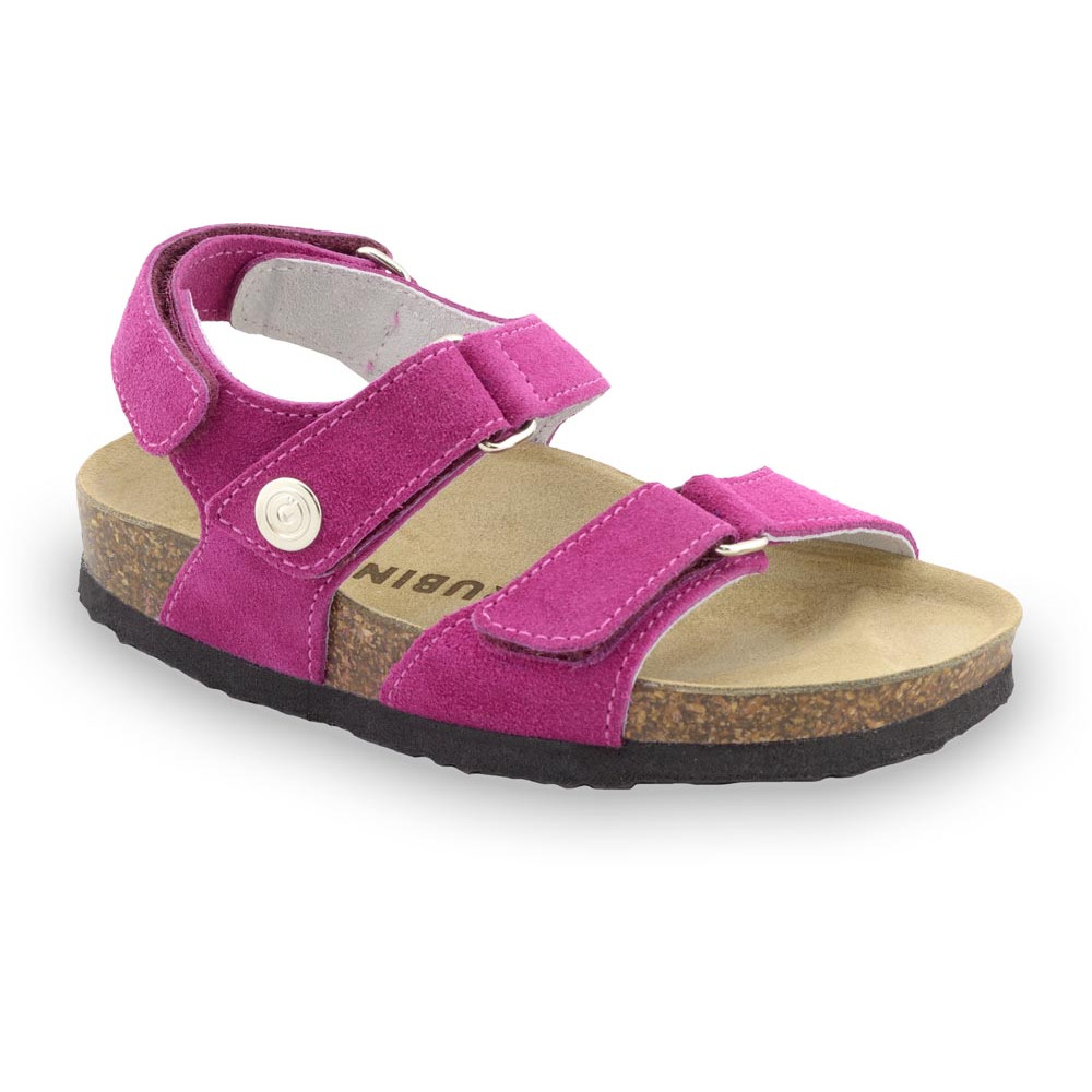 DONATELO sandály pro děti - semišová kůže (30-35)