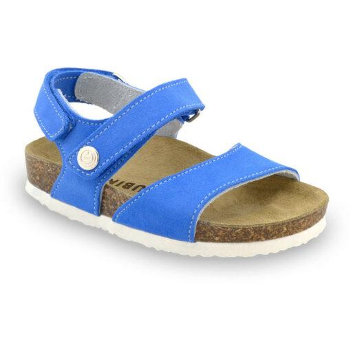 EJPRIL sandály pro děti - kůže nubuk (23-29)
