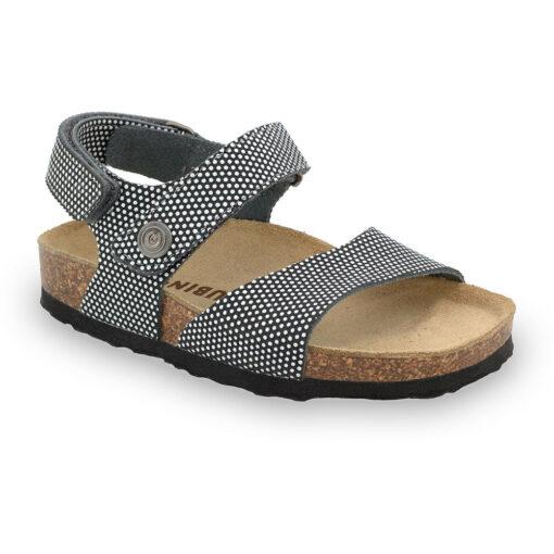 EJPRIL sandály pro děti - kůže kast (23-29)