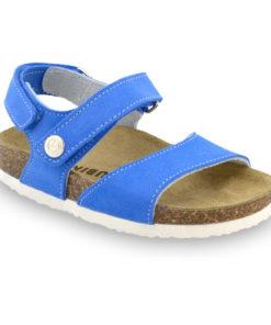 EJPRIL sandály pro děti - kůže nubuk (30-35)