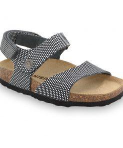 EJPRIL sandály pro děti - kůže kast (30-35)