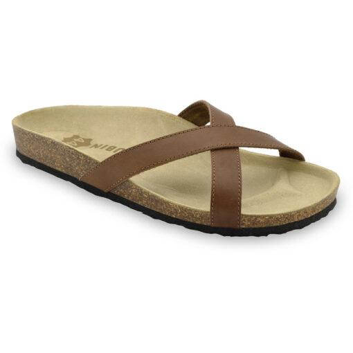 NORRIS pantofle pro pány - kůže (40-49)