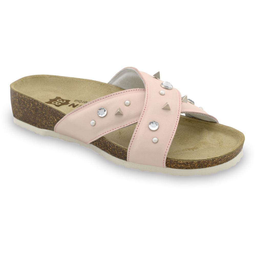 DAKOTA pantofle pro dámy - kůže (36-42)