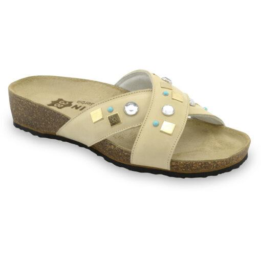 ELLE pantofle pro dámy - kůže (36-42)