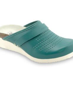 MALME papuče uzavřené silverplus - kůže (36-42)