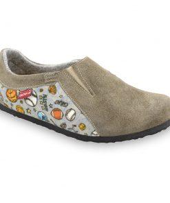 MOSCOW domácí zimní obuv pro děti - plyš (30-35)