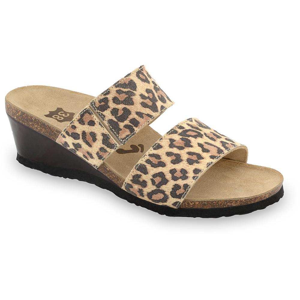 NATASHA kožené dámské pantofle (36-42)